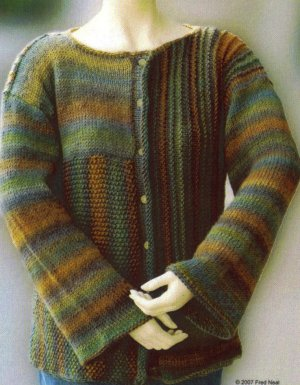 Universal Yarns Classic Shades Mountain Shades Pullover Kit - Women's Cardigans