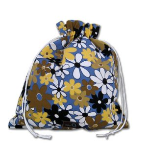 della Q Eden Cotton Project Bag (115-2) - 081 Twilight Daisies