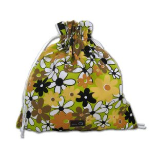 della Q Eden Cotton Project Bag (115-2) - 084 Daylight Daisies (Discontinued)