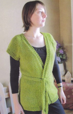 Knitting Pure And Simple Womens Cardigan Patterns 0114 Cap