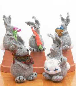 Knitting at Knoon Patterns - Bunny Hop Pattern