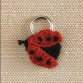 Lantern Moon Stitch Markers - Lady Bug (Discontinued)