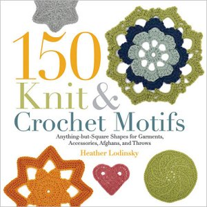150 Knit and Crochet Motifs