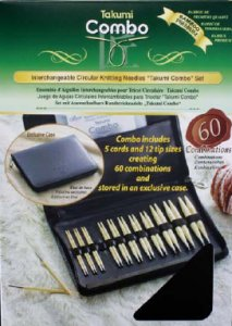 Clover Takumi Combo Interchangeable Knitting Needles - Clover Interchangeable Set Needles
