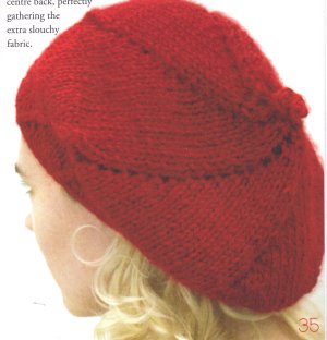 Misti Alpaca Chunky Beret Kit - Hats and Gloves