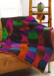 Universal Yarns Classic Shades Southwest Style Afghan Kit - Home Accessories