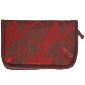 Lantern Moon Double Point Compact Zip Cases - Red, Chocolate