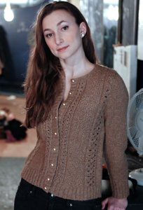Berroco Flicker Taina Cardigan Kit - Women's Cardigans