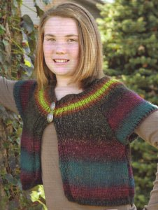 Universal Yarns Classic Shades Cool Kid Cardi Kit - Baby and Kids Cardigans