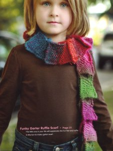 Universal Classic Shades Funky Garter Ruffle Scarf Kit - Scarf and Shawls