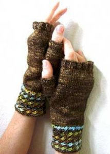 Madelinetosh Tosh Patterns - Daisy Mitts Pattern