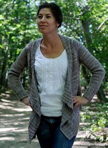 Knitbot Patterns - Effortless Cardigan