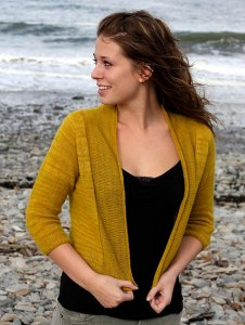 Knitbot Patterns - Featherweight Cardigan Pattern