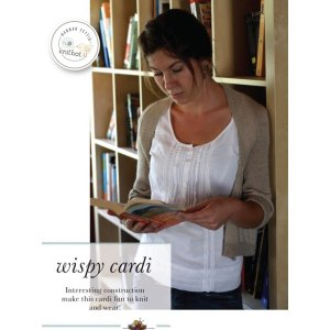 Knitbot Patterns - Wispy Cardi Pattern