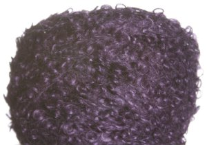 Be Sweet Boucle Mohair Yarn - Dark Blue Plum