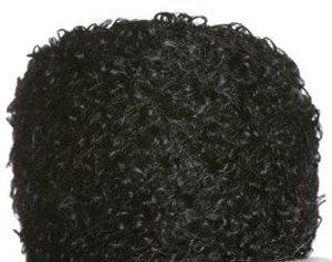 Be Sweet Boucle Mohair Yarn - Black