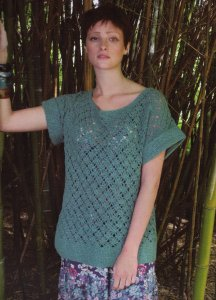 Rowan Panama Bread Fruit Tunic Kit - Crochet for Adults