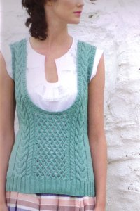Rowan Handknit Cotton Estuary Vest Kit - Vests