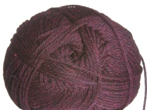 Plymouth Galway Heathers Worsted Yarn - 758 Red Wine Heather