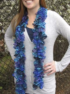 Rozetti Marina One-Skein Scarf Kit - Scarf and Shawls