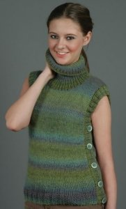 Universal Yarns Classic Shades Sherwood Pullover Kit - Women's Pullovers