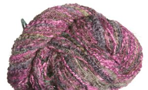 Trendsetter Treasure Yarn - 16 Moss And Eggplant