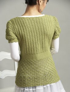 Elsebeth Lavold Silky Wool Cupcake Sweater Kit - Crochet for Adults
