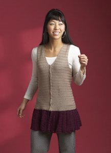 Cascade Ultra Pima Orlando Vest Kit - Crochet for Adults