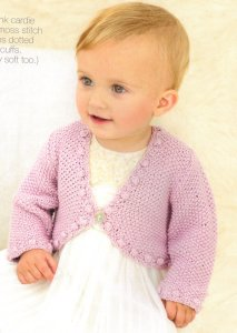 Sublime Baby Silk & Bamboo Little Sophie Cardie Kit - Baby and Kids Cardigans