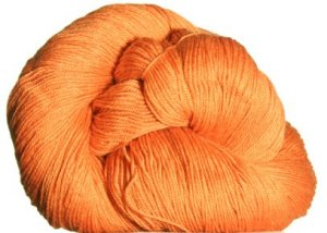 Cascade Heritage Silk Yarn - 5641 Mango (Discontinued)