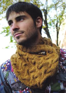 Rowan Lima Dolinar Cowl Kit - Scarf and Shawls