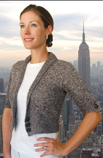Dovetail Designs Knitting and Crochet Patterns - City Cardigan to Knit Pattern