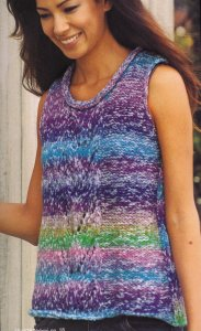 Noro Nobori Sleeveless Vest Kit - Vests