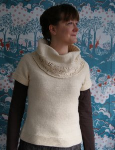 Winged Knits Patterns - Hollyhock Pattern