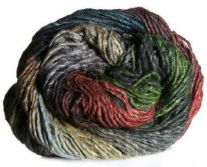 Noro Taiyo Yarn - 21 Rust, Hunter, Grey, Black