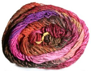 Noro Taiyo Yarn - 29 Oranges/Pinks/Brown/Purple (Discontinued)