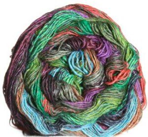 Noro Taiyo Sock Yarn - 05 Greens, Brown, Violet (Discontinued)