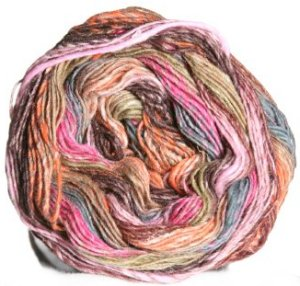 Noro Taiyo Sock Yarn - 06 Salmon, Browns, Grey, Magenta (Discontinued)
