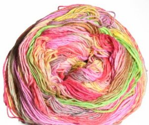 Noro Taiyo Sock Yarn - 07 Rose, Yellow, Pistachio (Discontinued)