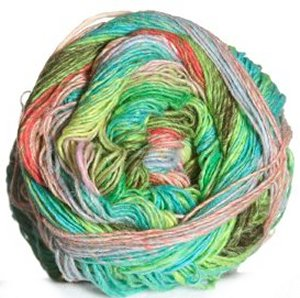 Noro Taiyo Sock Yarn - 10 Neon Greens, Aqua, Salmon (Discontinued)
