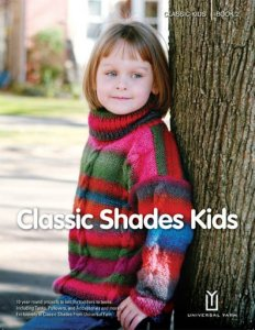 Universal Yarns Pattern Books - Classic Shades Kids