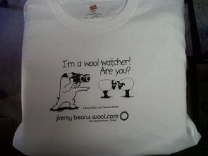 Jimmy Beans Wool Logo Gear - Wool Watcher T-Shirt - Medium
