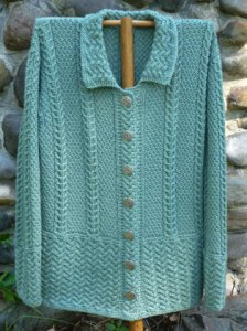Oat Couture Patterns - Kilkenny Cardigan Pattern