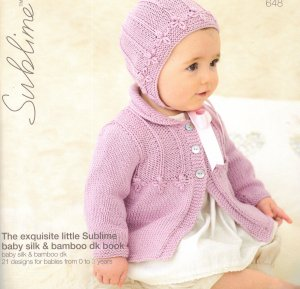 Sublime Books - 648 - The Exquisite Little Sublime Baby Silk & Bamboo DK Book