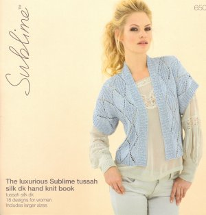 Sublime Books - 650 - The Luxurious Sublime Tussah Silk DK Book
