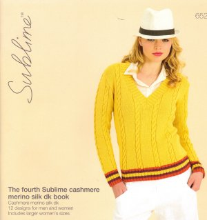 Sublime Books - 652 - The Fourth Sublime Cashmere Merino Silk DK Book