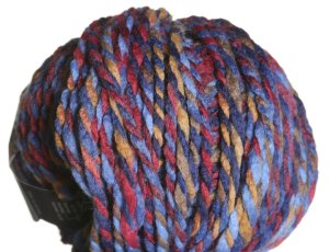 Lana Grossa Mix Up Multi Yarn - 104 Brown/Blue/Brown
