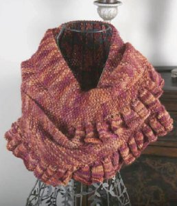 Misti Alpaca Ruffled Shawl Kit - Scarf and Shawls