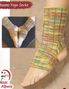 Misti Alpaca Tadasana Yoga Socks Kit - Socks