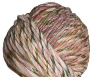 Lana Grossa Colore Yarn - 11 Off White/Green/Pink